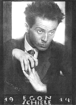 Egon Schiele en 1914