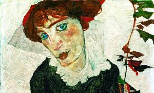 Portrait de Wally Neuzil, 1912, Egon Schiele