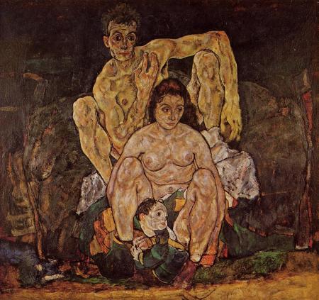 The Family, Egon Schiele, 1918