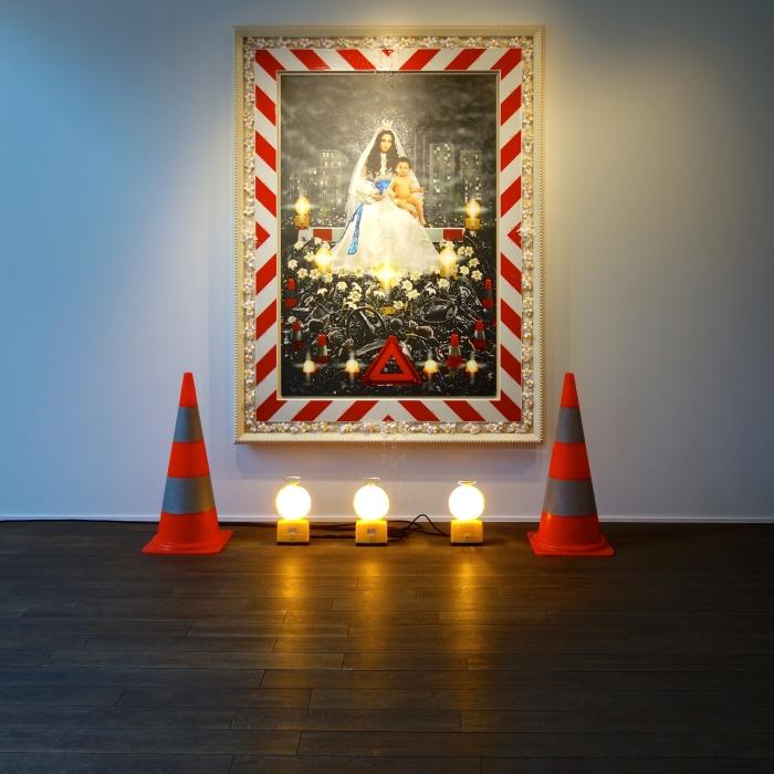 La Vierge à l'enfant (2009), Pierre et Gilles
