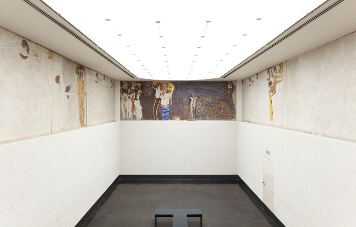 The Beethoven Frieze is a painting by Gustav Klimt on display in the Secession Building located in Vienna, Austria.