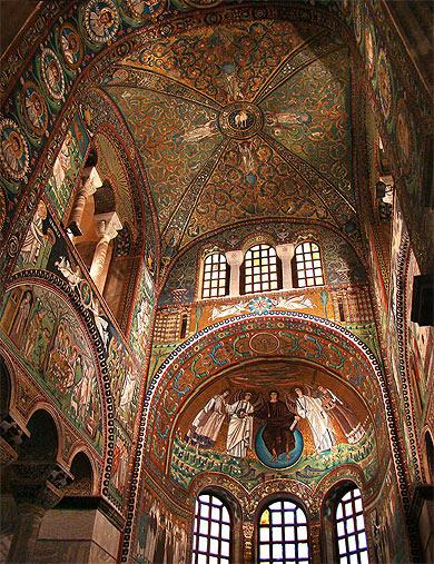 Basilica di San Vitale © Thanh T. Nguyen
