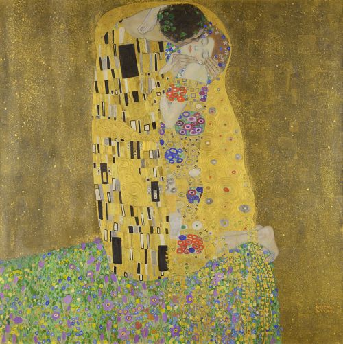 « The Kiss - Gustav Klimt - Google Cultural Institute » par Gustav Klimt — Google Art Project. Sous licence Domaine public via Wikimedia Commons - http://commons.wikimedia.org/wiki/File:The_Kiss_-_Gustav_Klimt_-_Google_Cultural_Institute.jpg#/media/File:The_Kiss_-_Gustav_Klimt_-_Google_Cultural_Institute.jpg