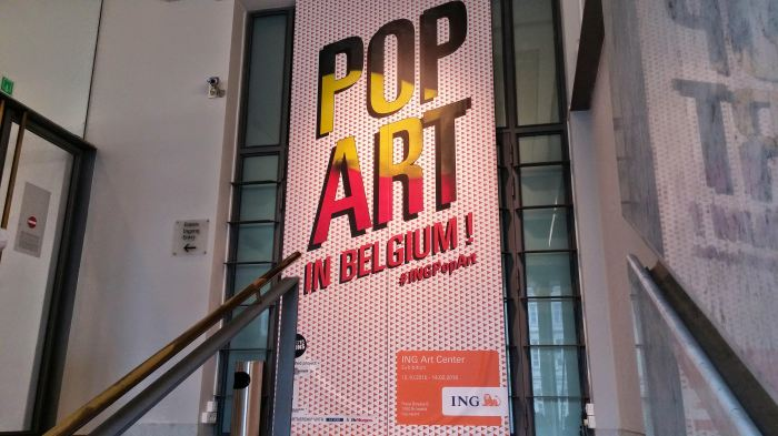 Pop Art in Belgium, ING Art Center
