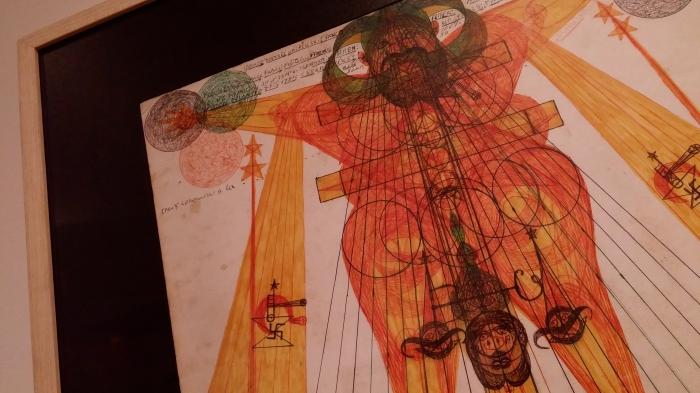 Du nombril au cosmos (Art brut) @ art)&(marges musée