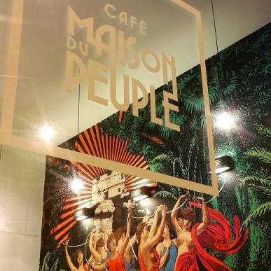 Elzo Durt au Café Maison du peuple